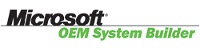 Member, Microsoft™ OEM System Builder Program